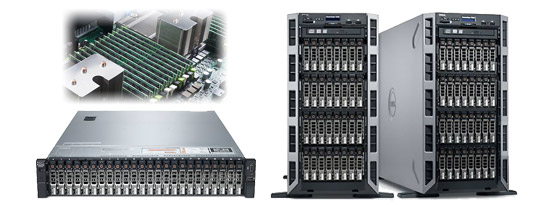 Dell PowerEdge T620 и R720XD